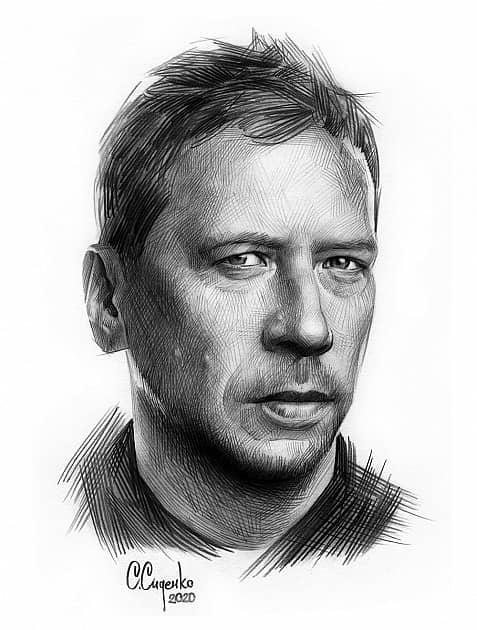 Портрет А. Мерзликина