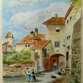 По картине известного Австрийского художника