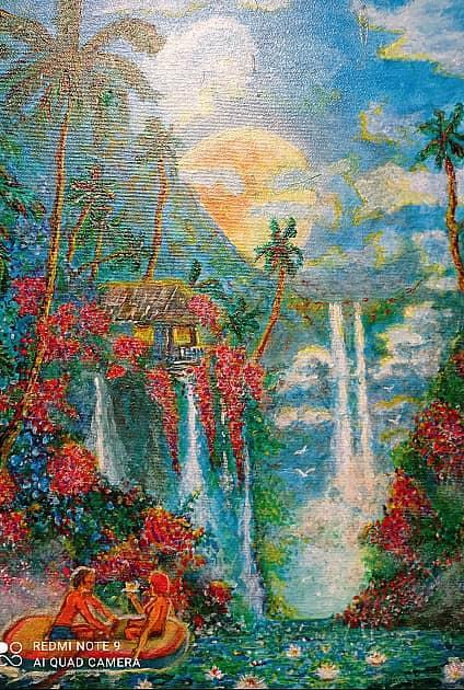 В раю