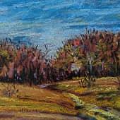 Осенью, художник Konstantin