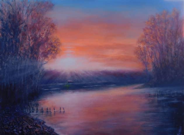 Тихий вечер на Крысиной реке
