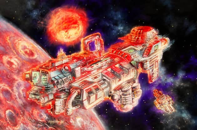 Космическая станция, сюжет 2