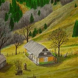 Гуцульский хуторок