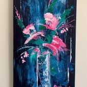 Fleurs papillons (1), художник SvetaS