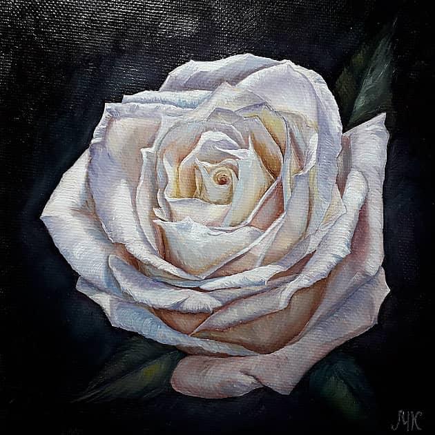 Портрет Розы Влюбленность