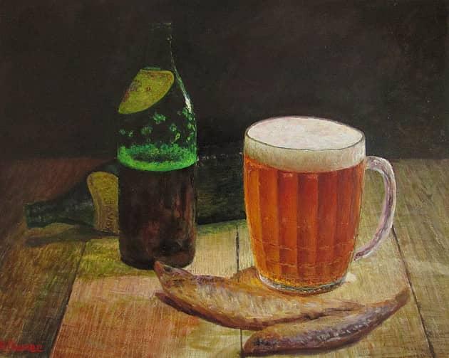 Рыба,пиво