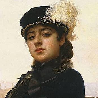 Женские портреты известных русских художников