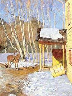Душевные картины русских художников (живопись XIX века)