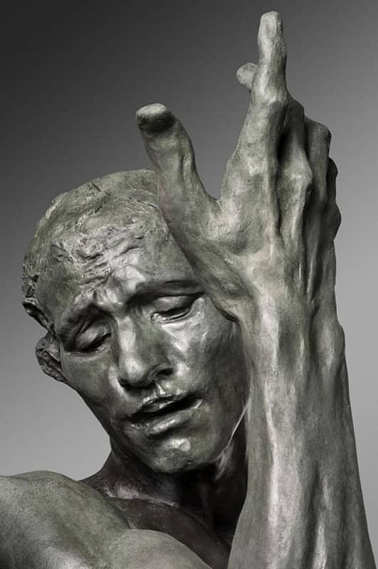 Огюст Роден. Граждане Кале (фрагмент) 1889