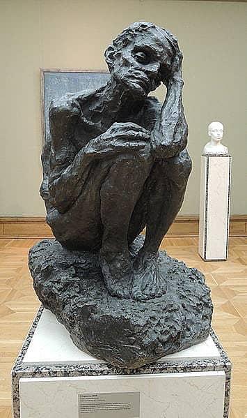 А.С. Голубкина. «Старость». 1898. Музей-мастерская А. Голубкиной, Москва