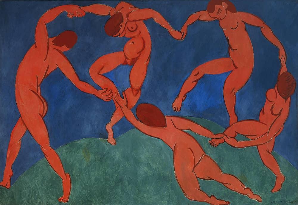 Анри Матисс, Танец, 1909-1910 гг., Франция